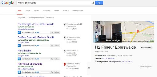 Local SEO mit Google my Business
