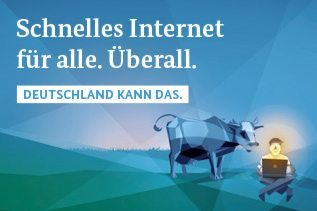 Schnelles Internet für alle