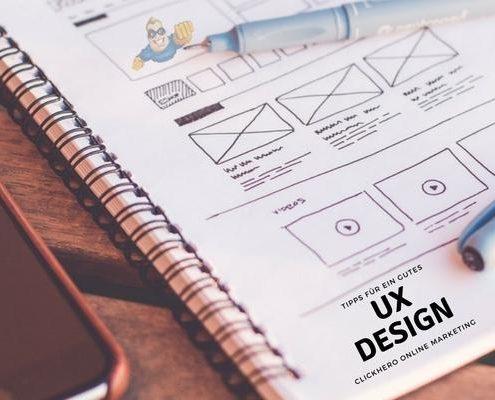 UX Design - Tipps für eine bessere User Experience