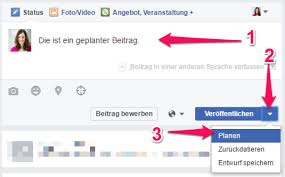 local SEO facebook regionaler Bzug