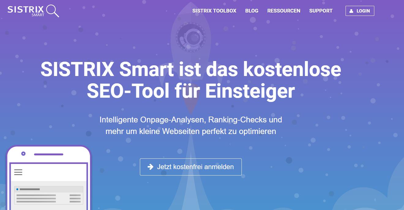 sistrix set tool